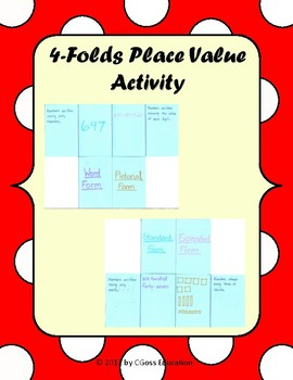 3 Place Value Activity Pack