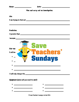 3 Plant science investigations Lesson plans, Investigation and Graph frames