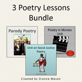 3 Poetry Lessons Bundle