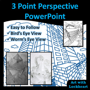 3 Point Perspective: How to Draw Boxes and Scenes PowerPoint