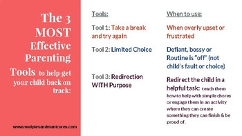 3 Positive Discipline Tools to Modify Behavior