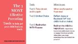 3 Positive Discipline Tools to Modify Behavior