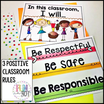 3 Positive Simple Classroom Rules!