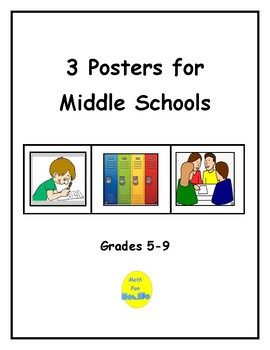 3 Posters for Middle School