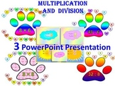 Multiplication and division - 3 PowerPoint Presentation