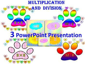 Multiplication and division 3 PowerPoint Presentation distance learning
