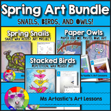 Spring Art Lessons, Bundle