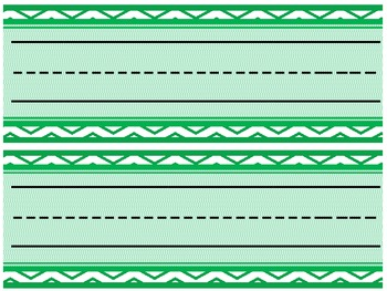3 Bright Chevron Printable Name Tag or Desk Plate Pack