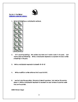 3 Printable Worksheets for Common Core Standard 3.OA.A.1