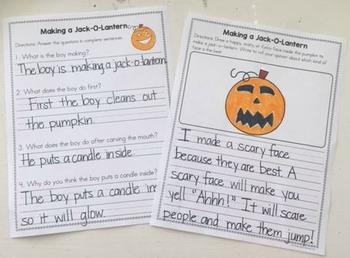 All About Pumpkins: 3 Mini-Books