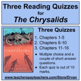 3 Quizzes for The Chrysalids with Answers