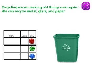 3 R's Tips:  Reduce, Reuse, Recycle