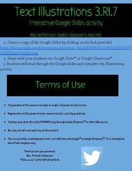 3.RI.7- Text Illustrations Google Slides Activity