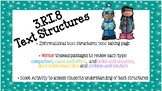 3.RI.8 Text Structures Packet {Winter Themed!}