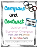 3.RI.9 Compare and Contrast Informational {Winter and Summ
