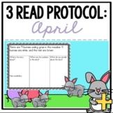 April 3 Read Protocol {A Close Read of a Math Story}