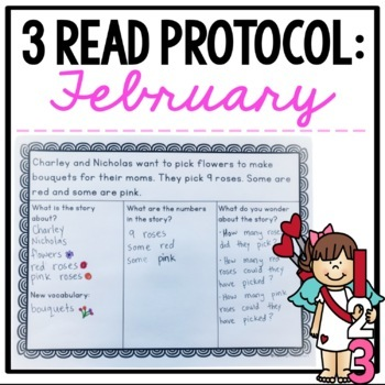 February 3 Read Protocol {A Close Read of a Math Story}