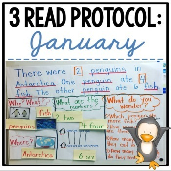 3 Read Protocol January {A Close Read of a Math Story}