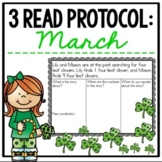 March 3 Read Protocol {A Close Read of a Math Story}