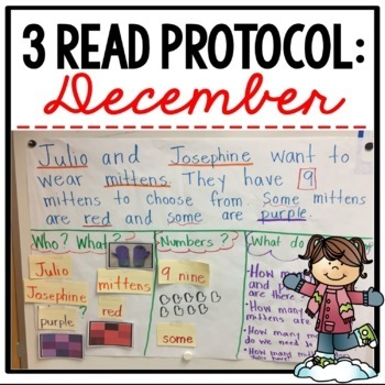 3 Read Protocol December {A Close Read of a Math Story}