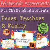 Teacher-Student Parent-Child Peer-Social Quality Relations
