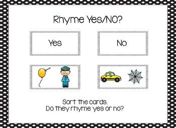 3 Rhyme Sorts