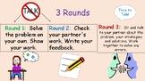 3 Rounds Cooperative Math Process Display
