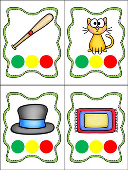 3 SOUND SEGMENTATION LARGE AND SMALL PICTURE CARDS