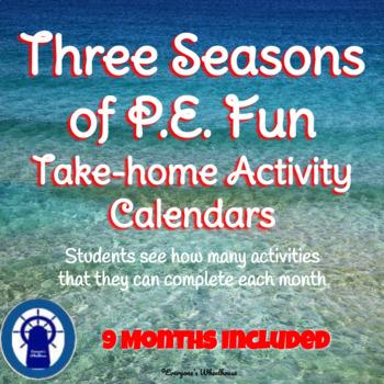 3 Seasons of P.E. Fun Bundle