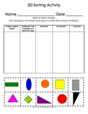 3 Shape Practice Activities