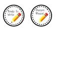 """3"""" Sharpen Pencil Labels"""