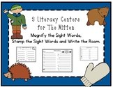 3 Sight Word Centers for The Mitten - Pre-Primer