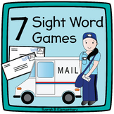 Sight Word & CVC Word Games BUNDLE