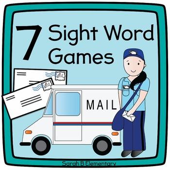 Sight Word & CVC Word Games BUNDLE