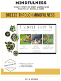 3 Simple Steps to Mindfulness