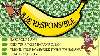 3 Simple Monkey Themed Classroom Rules