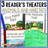 3 Social Science Reader's Theaters: Animals and Habitats