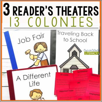 3 Social Studies Reader's Theaters: 13 Colonies