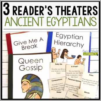 3 Social Studies Reader's Theaters: Ancient Egyptians
