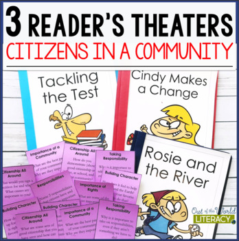 3 Social Studies Reader's Theaters: Citizens in a Community