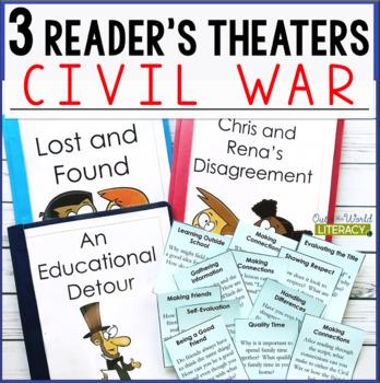 3 Social Studies Reader's Theaters: Civil War