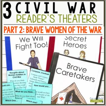 3 Social Studies Reader's Theaters: Civil War Set 2