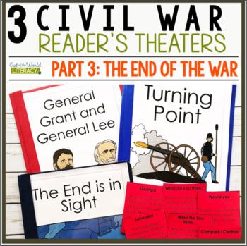 3 Social Studies Reader's Theaters: Civil War Set 3