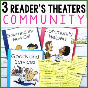 3 Social Studies Reader's Theaters: Communities