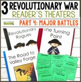 3 Social Studies Reader's Theaters: Revolutionary War