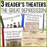 3 Social Studies Reader's Theaters: The Great Depression
