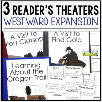 3 Social Studies Reader's Theaters: Westward Expansion