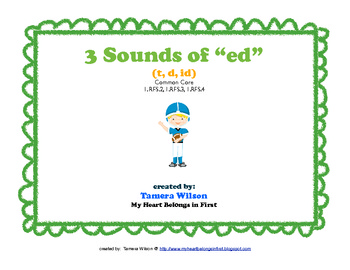 3 Sounds of Ed: Common Core 1.RFS.2, 1.RFS.3, 1.RFS.4
