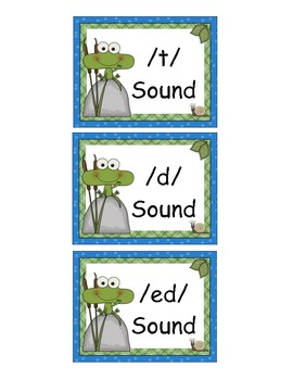 3 Sounds of ed Sort