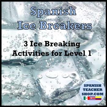 3 Spanish Ice Breakers